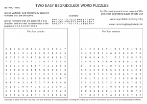 Free Begriddled! puzzles to download